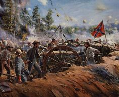 The Battle of Franklin was fought on November 30, 1864, at Franklin, Tennessee. It was one of the worst disasters of the war for the Confederate States Army. Confederate Lt. Gen. John Bell Hood's Army of Tennessee conducted numerous frontal assaults against fortified positions occupied by the Union forces under Maj. Gen. John M. Schofield and was unable to break through or to prevent Schofield from a planned, orderly withdrawal to Nashville.