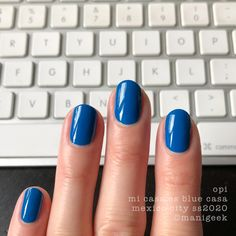 It's the upcoming OPI Mexico City Collection for Spring/Summer Let's look at all da swatches! Opi Gel Nails, Opi Gel Polish, Shellac Nail Art, Diy Nail Polish, Gel Polish Colors, Gel Color, Nail Colors, Diy Nails, Latest Nail Colours