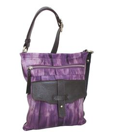 Viola Squeeze My Leather Crossbody Bag