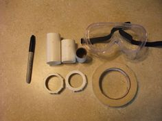 Ghostbusters Goggles DIY! :D