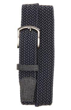 Cuater by TravisMathew Cheers Woven Belt | Nordstrom Casual Belt, Nordstrom Gifts, Woven Belt, Dark Grey, Cheers, Men, Accessories, Golf, Hardware