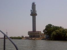 Sulina lighthouse - can be seen from the Sulina channel.