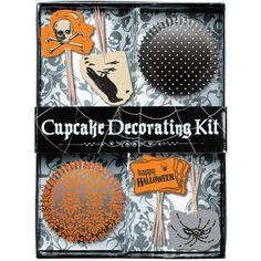 24 sets à Cupcakes Halloween Effrayant