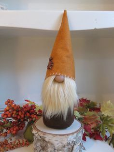 Swedish Gnome Scandinavian Tomte Forest Gnome Fall