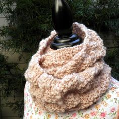 Rustic Tweed Knit Cowl Pattern - Free Knitting Pattern! — NobleKnits Knitting Blog