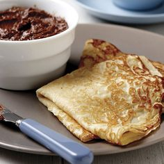 This basic crêpe is simple and delicious with a hint of vanilla that does justice to both sweet and savory fillings.