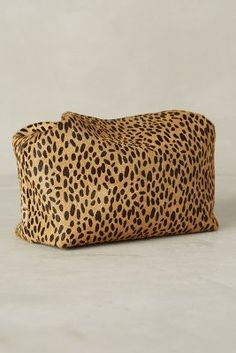 Let & Her Calf Hair Mini Box Pouch #anthrofave #anthropologie