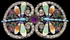 Dragonfly Buckle, c. 1903. Piel Freres (1850-1920)