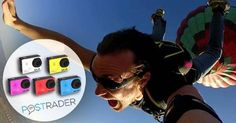 Capture the extreme moments with this action cam! Buy at manufacturer price, EUR 85 up. https://postrader.ee/weekly-promotion