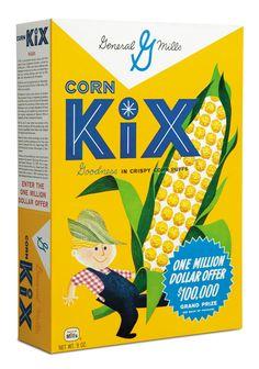 I remember this box of KIX! 1960s.