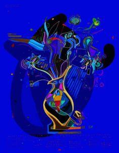 "Saatchi Art Artist dOminic brown; Painting, ""Flowerportrait nr 1"" #art"