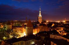 Tallinn - just across the bay from Helsinki and hauntingly pretty