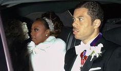 TV host Star Jones and banker Al Reynolds wed on November 13, 2004, at St. Bartholomew's Church in New York City. Following 12 bridesmaids in champagne gowns with fur wraps, the bride walked down the aisle in a Reem Acra dress with a 27-foot train in front of 450 guests, including Kelly Rippa, Kim Cattrall, Barbara Walters and Hillary Clinton. Singer Patti LaBelle sang at both the ceremony and the reception, which was held in the ballrooms of The Waldorf-Astoria hotel.