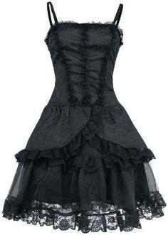 Velvet Gothic Dress af Queen Of Darkness