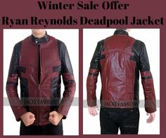 http://www.ebay.com/itm/Ryan-Reynolds-Deadpool-Jacket-Available-in-All-Sizes-Free-Gift-/262278632316   Winter Sale Offer Ryan Reynolds Deadpool Jacket Just Only At $89 For Sale At Online Store Ebay.com !!!   #RyanReynolds #Deadpool #Jacket #memes #fashion #fashionlover #fashionstyle #fashionblogger #fashionstyle #vintage #clothing #celebs #celebrities #sale #cosplay #holiday #costume #geek #marvel #comic #menswear #mensfashion #leatherfashion #shoppingseason #winter #wintersale