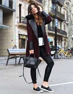 Varie o preto, branco e cinza no inverno com um tom que é tão básico quanto: o burgundy.