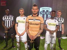 Angers-SCO dévoile ses nouveaux maillots pour la saison 2016/2017 #ligue1 #football