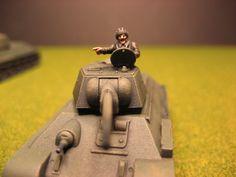 Flames of War, Russian T-34/76 tank commander