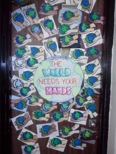 59 Amazing Earth Day Door Decor Images Earth Day Environment