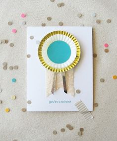 """[Olympics] """"You're A Winner"""" Greeting Card"""
