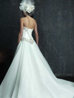 Fit for a princess!  Give it a repin.  Available at www.gatewaybridal.com