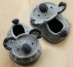 Resultado de imagen para zapatos de crochet para bebe varon