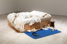 Tracey Emin's My Bed on display at Turner Contemporary in Margate, as part of our autumn 2017 season of exhibitions. Photo: Manu Palomeque
