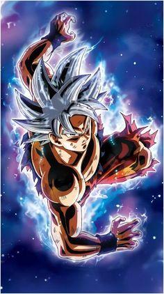 Goku Ultra Instinct Dragon BallYou can find Dragon ball and more on our website. Dragon Ball Gt, Son Goku, Foto Do Goku, Dragonball Super, Goku Vs Jiren, Goku Wallpaper, Dragonball Wallpaper, Anime Couples Manga