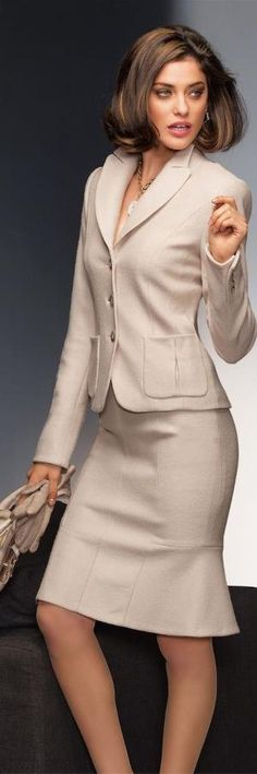 Мадлен осени 2014 ● Мадлен шерстяной костюм.  V Александрой