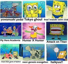 xD Spongeboobanime #spongebobanime #spongebobmotions #animeworld #manga #animemoment #animememe #animememes #anime #animes #animeboy #animegirl #animeart #animelover #animeworld #animefan