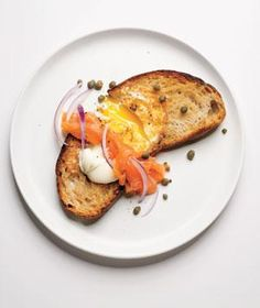 Egg in a Hole With Smoked Salmon Recipe