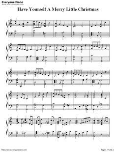 Christmas Piano Sheet Music, Xmas Music, Christmas Lyrics, Violin Sheet Music, Song Sheet, Christmas Christmas, Merry Little Christmas, Music Music, Song Notes
