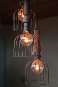 Lighting | Industrial | Bird cage inspired