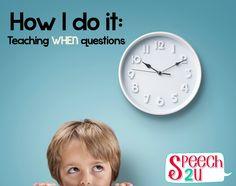 teaching when questions