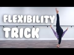 Oh I loooove illusions because they are great for every level of dance! Flexibility Dance, Flexibility Workout, Dance Tips, Dance Lessons, Contemporary Dance, Modern Dance, Easy Dance, Dancer Workout, Dance Stretches