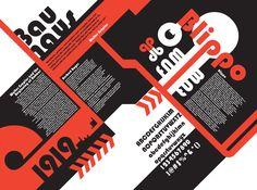 Bauhaus Poster by FowlerDesign on deviantART