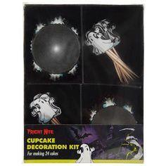 Halloween Ghost Cupcake Decoration Kit | Poundland