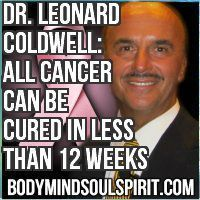 Dr. Leonard Coldwell: ALL Cancer Can Be Cured in Less Than 12 Weeks