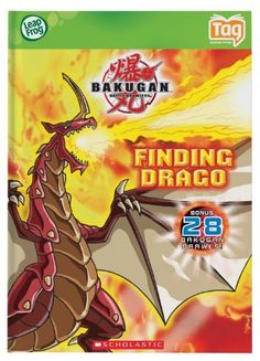 LeapFrog Tag Activity Storybook Bakugan: Finding Drago by LeapFrog. $9.99. Children can build vocabulary and reading skills throughout the story and with interactive learning activities, Bakugan: Finding Drago introduces listening comprehension, character identification, making predictions and memory skills. Use your Tag Reader to bring this story to life as Dan finds his Bakugan Drago. Children can earn online rewards and parents can connect the Tag Reader to the online...