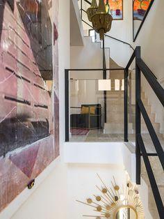 staircase designed by Christine Leja