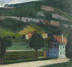 1926 Painting, Art, Switzerland, Scenery, Painting Art, Summer, Kunst, Art Background, Paintings