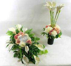 Stroik na grób,kompozycja nagrobna Diy And Crafts, Flowers, Floral Arrangements, Royal Icing Flowers, Flower, Florals, Floral, Blossoms