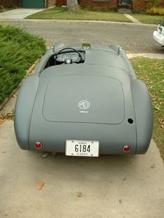 Pattern for short racing WS Glass | MG MGA | MG-Cars.net
