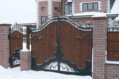Объявление. г. Тюмень, Деревянные ворота с элиментами ковки. Фото 5