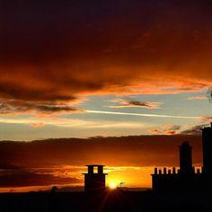 #SKY #sunset #milenaguideparis #france #coucherdesoleil #parisbynight #залез #paris