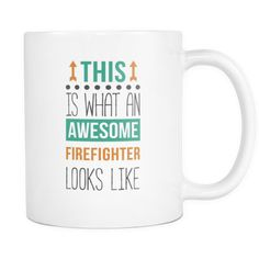 a8c44faad6 [product_style]-Awesome Firefighter mug - Fireman coffee cup (11oz) White-