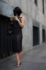 On the Street….Via Cola di Rienzo, Milan « The Sartorialist