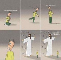 Lord knows the world is always ready to throw stones...thank goodness He's always there to protect me.