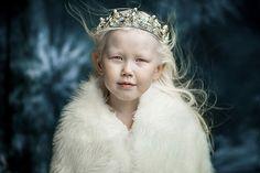8-year-old Nariyana, Yakut albino indigenous girl from Russia
