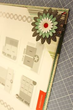 Creative Memories - neat corner bookmark (MJP will demo at May 5, 2012 National Scrapbook Day)